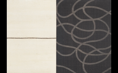(detail) David Shapiro, Clearing 112, 2012 (courtesy of Goya Contemporary)