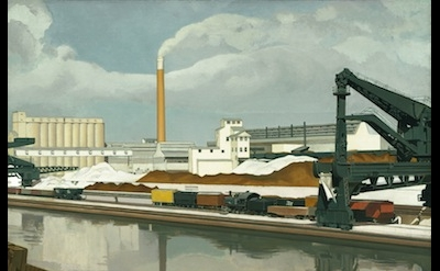 Charles Sheeler, American Landscape, 1930 (The Museum of Modern Art, New York. G