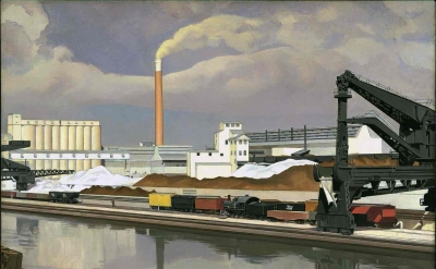 Charles Sheeler, American Landscape, 1930 (Photo: © Museum of Modern Art, New York / Scala, Florence)