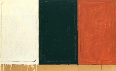 (detail) Mario Schifano, La stanza dei Disegni, 1962 (courtesy Sperone Westwater