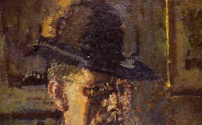 (detail) Walter Sickert, Portrait (source: rebeccaharp.com)