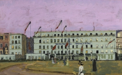 Walter Sickert, L'Hôtel Royal, Dieppe, 1894, oil on canvas, 50.2 x 61 cm (Museum