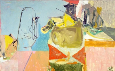 Amy Sillman, Birdwatcher, 2004 (collection of the Museum of Fine Arts, Boston)