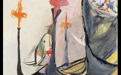 (detail) Amy Sillman, Elephant, 2005 (collection Nerman Museum of Contemporary A