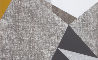 (detail) Francesca Simon, In Construction, 2014, acrylic on linen on wood, dipty