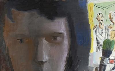 (detail) Elena Sisto, 21, 076, 2011, Oil on canvas, 60 x 54 inches (courtesy of