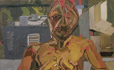 (detail) Clintel Steed, When Dreams Happen, 2016, 48 x 48 inches (courtesy of Steven Harvey Fine Art Projects)