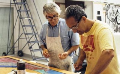 Kenneth Tyler and Frank Stella