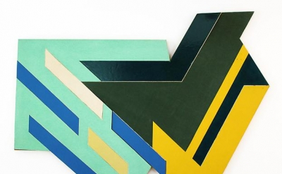 Frank Stella, Bogoria I, 1971, mixed media relief, 90 x 116 inches (courtesy of