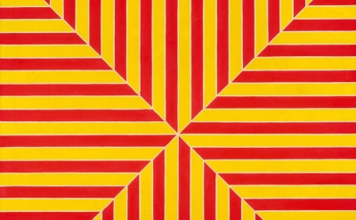 (detail) Frank Stella, Marrakech, 1964 (The Metropolitan Museum of Art © 2015 Fr