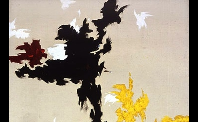 Clyfford Still, Untitled (PH-118), 1947, oil on canvas, 69 x 53 inches (Clyfford