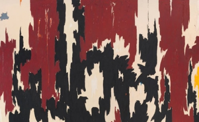 (detail) Clyfford Still, PH-401, 1957 (courtesy of the Clyfford Still Art Museum
