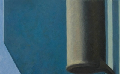 (detail) Altoon Sultan, Black Cylinder, 2012, egg tempera on calfskin parchment