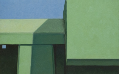 Altoon Sultan, Facing Green, 2013, 6 1/2 x 8 5/8 inches (courtesy of the artist)