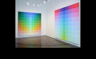 Installation View: Robert Swain: Color Energy at Minus Space, Brooklyn, New York