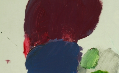 (detail) Terrell James, FS 541, 2010, oil on paper, 20 x 16 inches (courtesy: Ba
