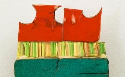 Ezra Tessler, Little private wharf (for Gagalka), 2012, oil, acrylic, gouache, g