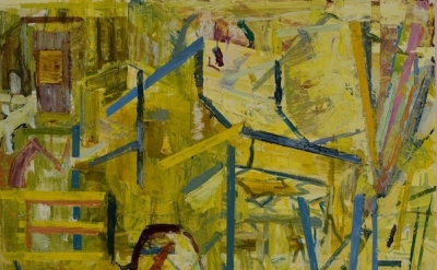 "Thomas Berding, ""Light of Day,"" 2010, oil on Canvas, 44 x 48 inches"