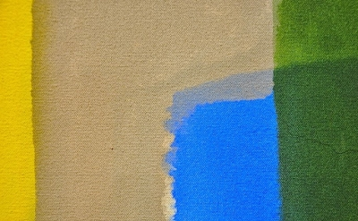 (detail) painting by Richard Timperio (photo: Paul Behnke)
