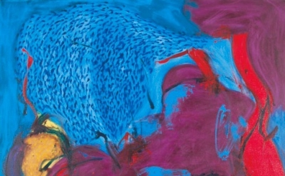 (detail) Tom Evans, St. Adrianes, 2008, oil on canvas, 72 x 60 inches (courtesy
