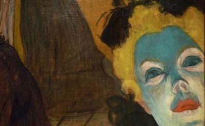 (detail) Henri de Toulouse-Lautrec, At the Moulin Rouge, 1892-1895 (collection o