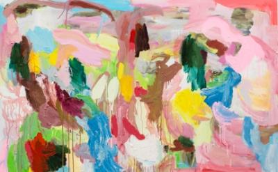 (detail) Sabine Tress, Aglaé, oil on canvas, 150 x 150cm, 2015 (courtesy of the artist)