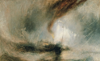 Joseph Mallord William Turner, Snow Storm: Steam-boat off a Harbour's Mouth, c.1