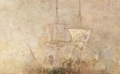 (detail) James Mallord William Turner, Hurrah! For the Whaler Erebus! Another Fi