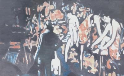 Luc Tuymans, Allo! 1, 2012, oil on canvas, 133.7 x 182.6 cm (© 2012 Luc Tuymans)