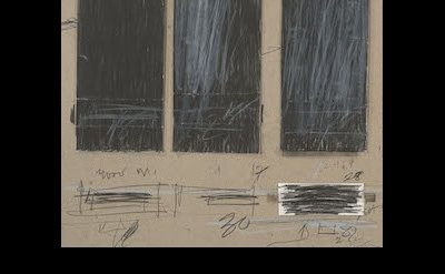 (detail) Cy Twombly, Untitled (28 May, 1970) (photo: Graham S. Haber, 2014. © Cy