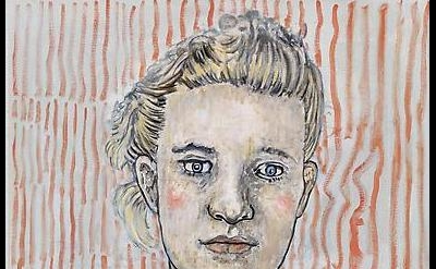 (detail) Hannah van Bart, Young Woman, 2012, oil on linen, 29 1/2 x 21 1/2 inche