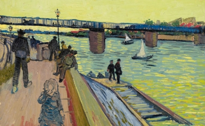 Vincent van Gogh, The Bridge at Trinquetaille, 1888 (Private collection)