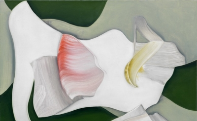 Lesley Vance, Untitled, 2013, oil on linen, 13 x 17 inches (courtesy of David Ko