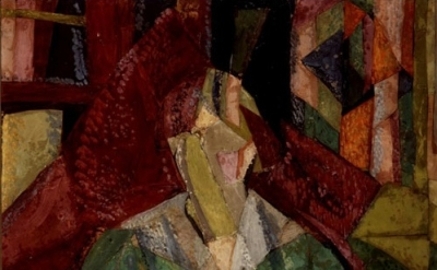 Vanessa Bell. Portrait of Molly MacCarthy, 1914–15. Private Collection, detail