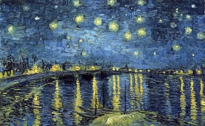 Vincent van Gogh, Starry Night over the Rhone, 1888 (Musèe d'Orsay)