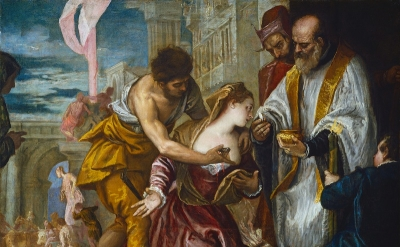 Paolo Veronese Martyrdom and Last Communion of Saint Lucy, ca. 1585 Oil on canva