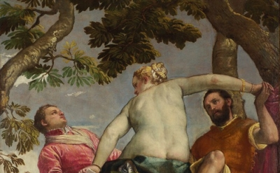 (detail) Veronese, Infidelity from 'The Allegories of Love' (c.1570-75) London N
