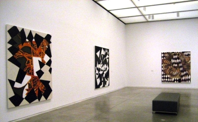 Installation View, Charline von Heyl at the ICA Boston (photo: Joanne Mattera)