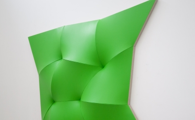(detail) Jan Maarten Voskuil, Dynamic Monochrome, 2012, acrylic on linen, 135 x 135 x 15 cm (courtesy of the artist)