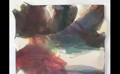 (detail) Maria Walker, Summer - Summer Solstice, 2011-12, acrylic, unprimed canv
