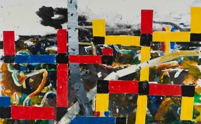 (detail) John Walker, Red Yellow and Blue, Coastal Cross North Branch, 2011 (cou