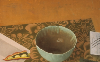 Susan Jane Walp, Empty Bowl, 1995, oil on linen, 8 x 10 inches (Private collecti