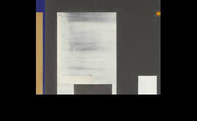 (detail) Joan Waltemath, Oaxaca Blue/darkness too, 2007-15, oil,  graphite, bron