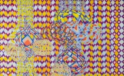 (detail) Laura Watt, Clown Tears, 2011, oil on canvas (courtesy of the artist)