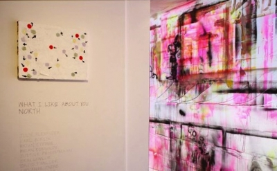 Installation View, What I Like About You: North at Imogen Holloway Gallery, Saug