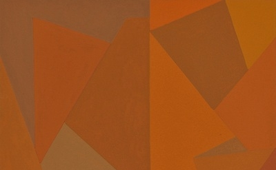 (detail) Nancy White, #35, 2012, acrylic on paper, 10 x 8 inches (courtesy of St