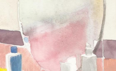 (detail) Watercolor by Roger White (courtesy of the artist)