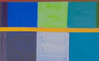 (detail) Stanley Whitney, Loveroot, 2008 (courtesy of Martha and John Gabbert)