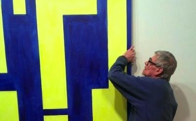 Thornton Willis in his studio (photo: James Panero)