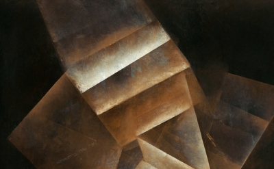 (detail) Fritz Winter, Stufungen, 1934, oil on paper on canvas, 100,5 x 75,5 cm